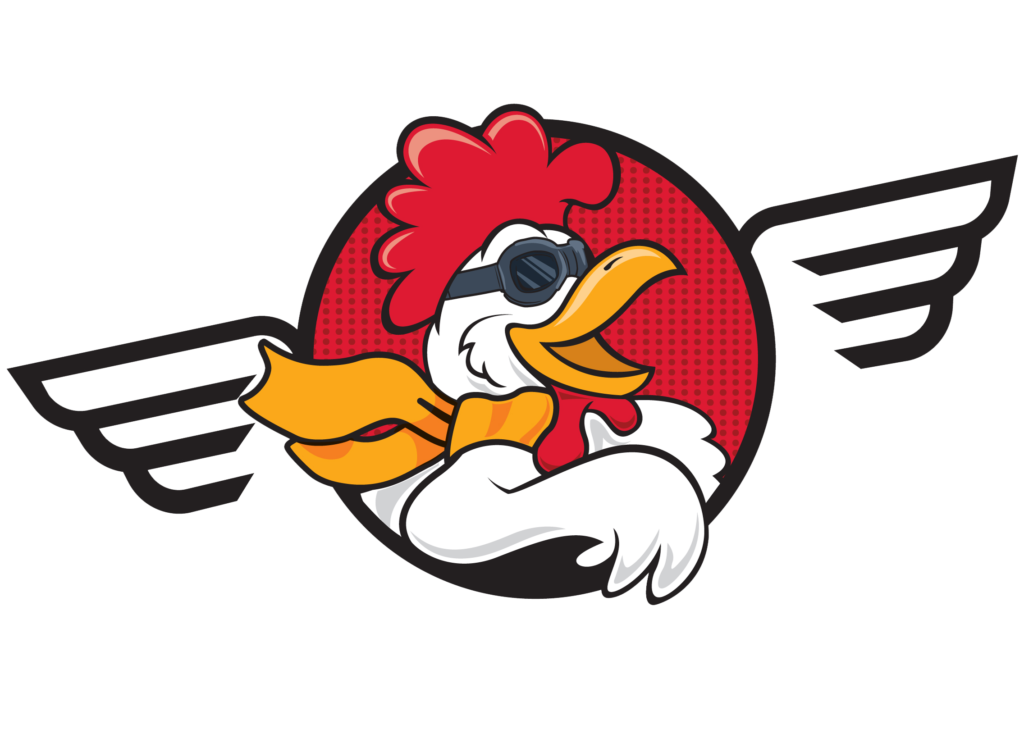 flyby chicken logo